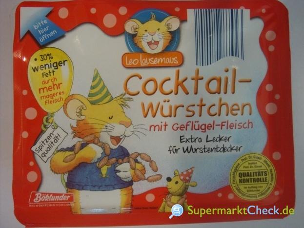 Foto von Böklunder Leo Lausemaus Cocktail-Würstchen