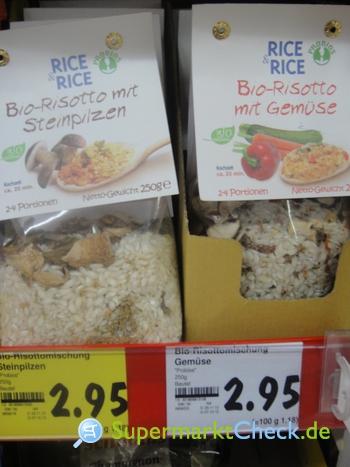 Foto von Probios Rice & Rice Bio Risotto mit Gemüse