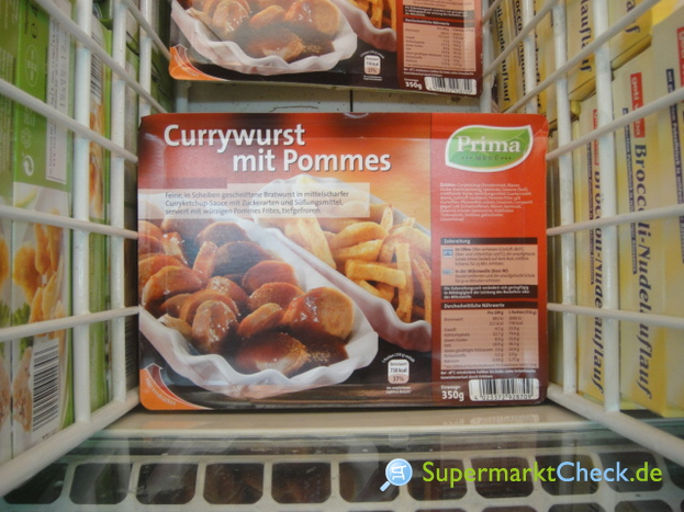 Foto von Prima Menü Currywurst