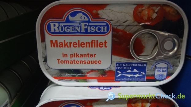Foto von Rügen Fisch Makrelenfilet
