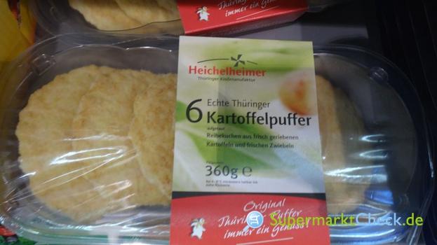 Foto von Heichelheimer Echte Thüringer Kartoffelpuffer