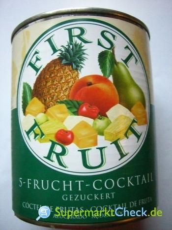 Foto von First Fruit 5-Frucht-Cocktail