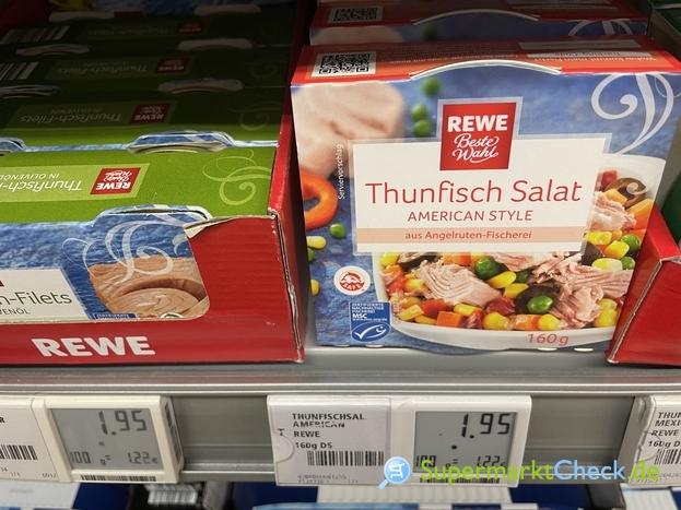 Foto von REWE Beste Wahl Thunfisch Salat