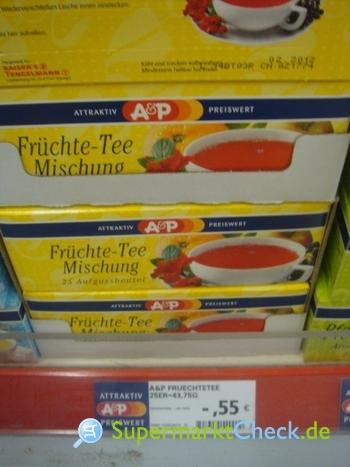 Foto von A&P Früchte Tee