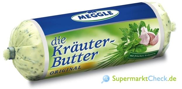 Foto von Meggle die Kräuter-Butter Original