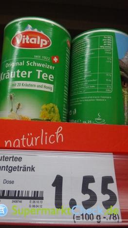 Foto von Vitalp Schweizer Kräutertee