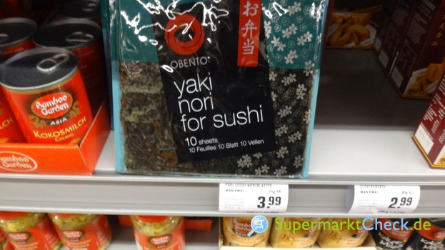 Foto von obento Yaki Nori for Sushi Noriblätter