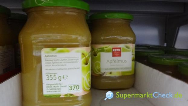 Foto von REWE Beste Wahl Apfelmus Golden Delicious