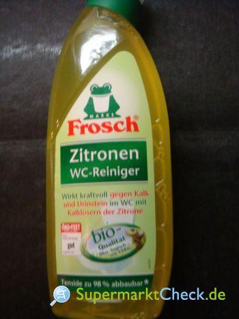 Foto von Frosch Zitronen WC Reiniger