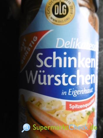 Foto von Gut & Günstig Schinken Würstchen