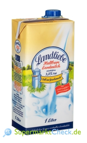 Foto von Landliebe Haltbare Landmilch