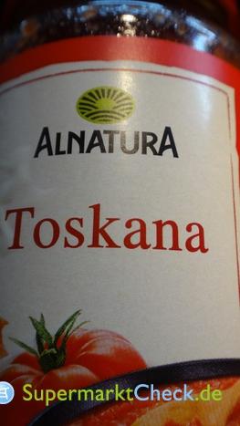 Foto von Alnatura Toskana Tomaten Sauce