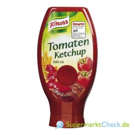 Foto von Knorr Tomaten Ketchup