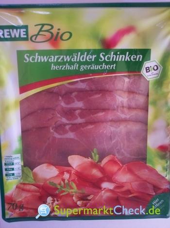 Foto von Rewe Bio Schwarzwälder Schinken