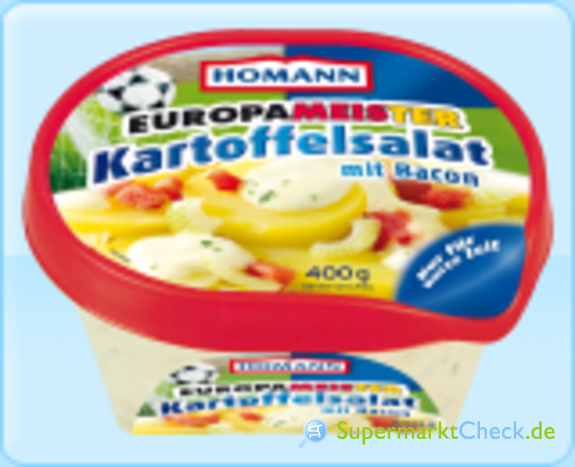 Foto von Homann Europameister Kartoffelsalat