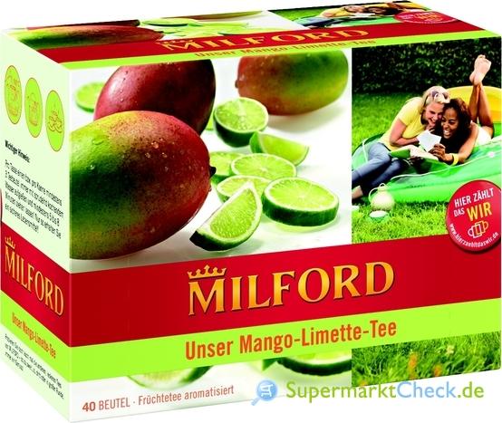Foto von Milford Unser Mango-Limette-Tee