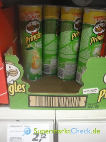 Foto von Pringles Sour Cream & Onion