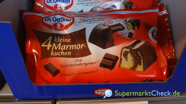 Foto von Dr. Oetker 4 kleine Marmorkuchen