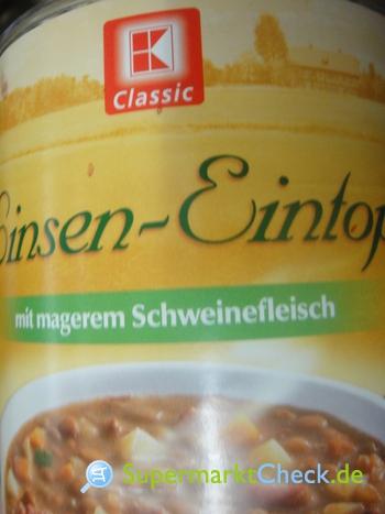 Foto von K Classic Linsen Eintopf