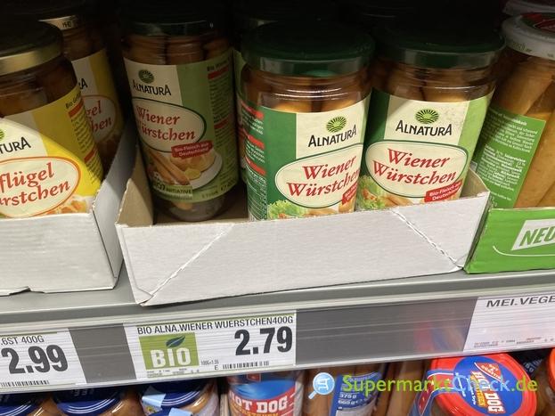 Foto von Alnatura Wiener Würstchen