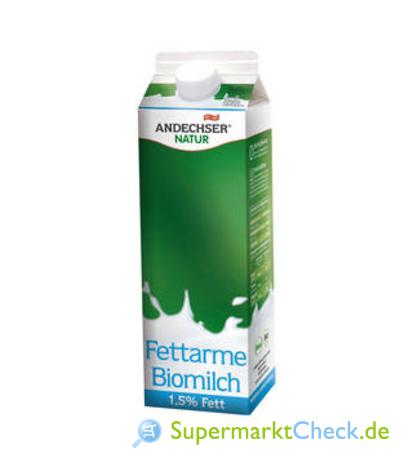 Foto von Andechser Natur Fettarme Biomilch