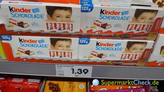 Foto von Kinder Schokolade
