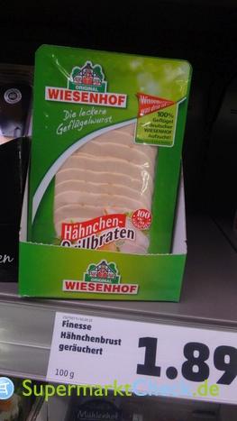 Foto von Wiesenhof Hähnchen Grillbraten gegart