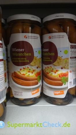 Foto von tegut Wiener Würstchen