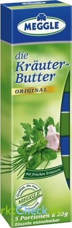 Foto von Meggle die Kräuter-Butter Portionen