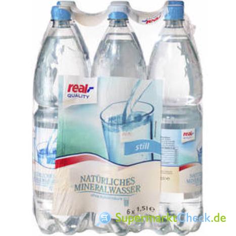 Foto von real Quality Mineralwasser still