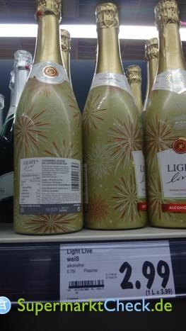 Foto von Light Life alkoholfreier Sekt