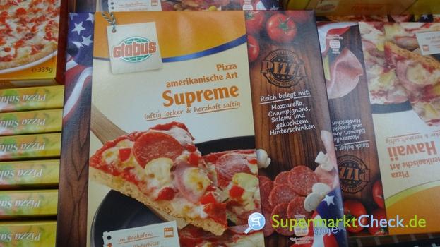 Foto von Globus Pizza amerikanische Art