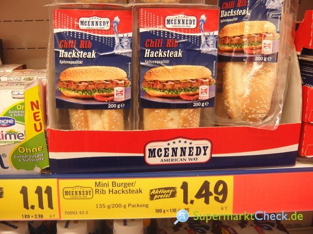 Foto von MC Ennedy Chili Rib Hacksteak Burger