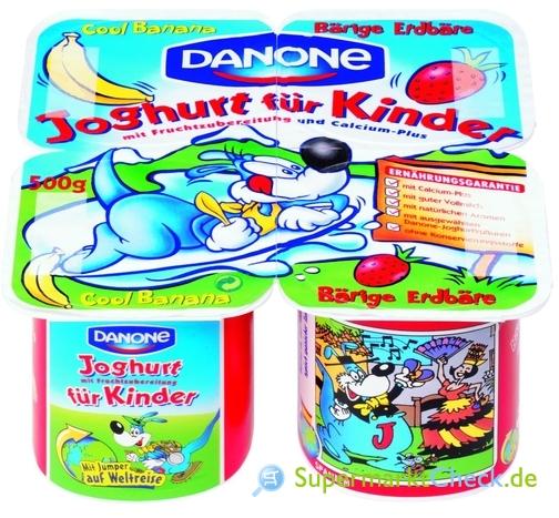 Foto von Danone Joghurt für Kinder