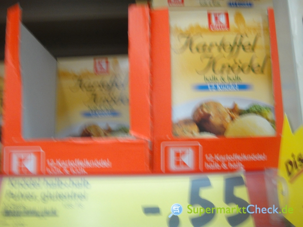 Foto von K Classic Kartoffel Knödel