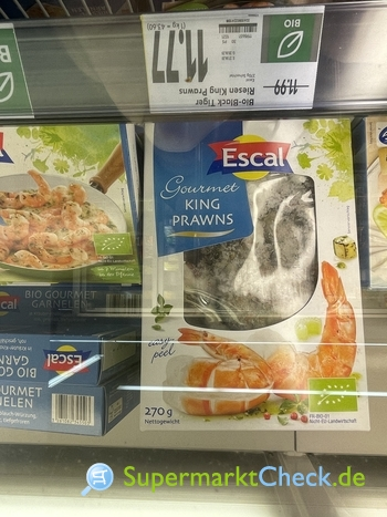 Foto von Escal Gourmet King Prawns
