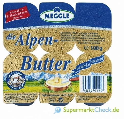 Foto von Meggle die Alpenbutter