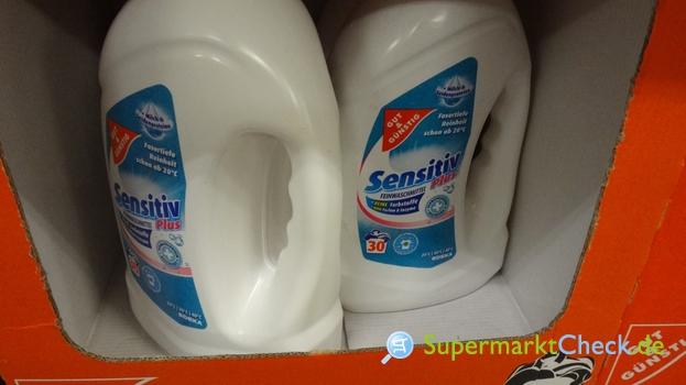 Foto von gut & günstig Feinwaschmittel sensitiv flüssig