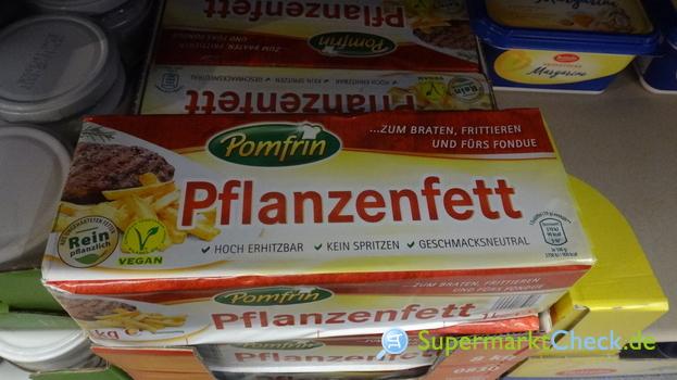 Foto von Pomfrin Pflanzenfett