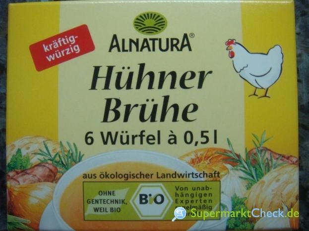 Foto von Alnatura Hühner Brühe