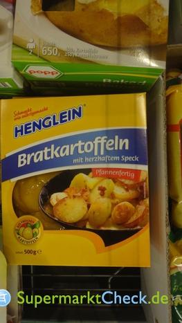Foto von Henglein Bratkartoffeln