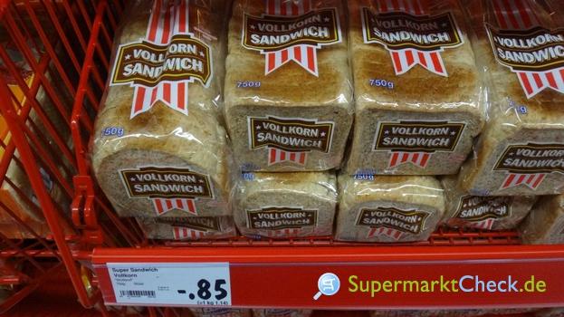 Foto von Brotland Super Sandwich Vollkorn