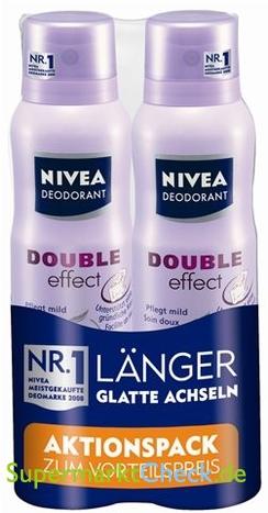 Foto von Nivea Deodorant Spray Double Effect Aktionspack