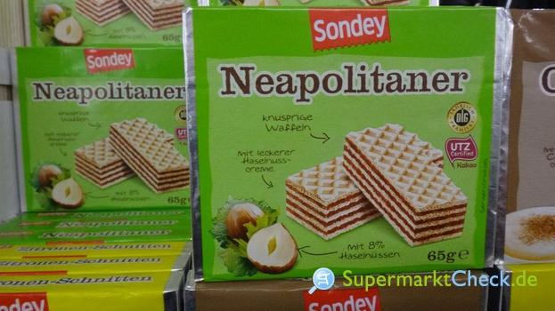 Foto von Sondey Neapolitaner 3-er