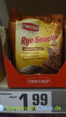 Foto von Finn Crisp Rye Snacks