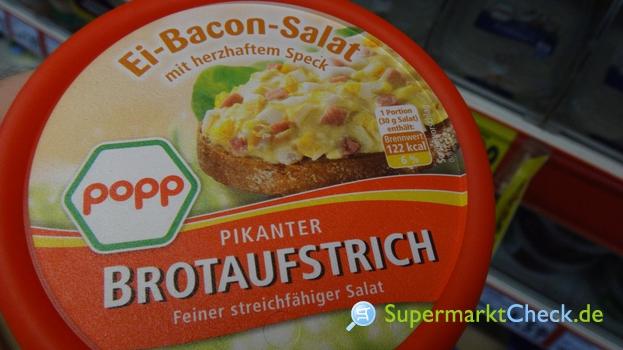 Foto von Popp Feinkost Ei Bacon Salat