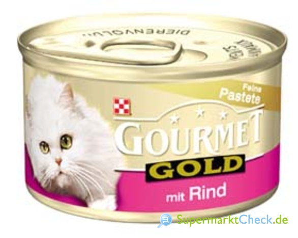 Foto von Purina Gourmet Gold Feine Pastete