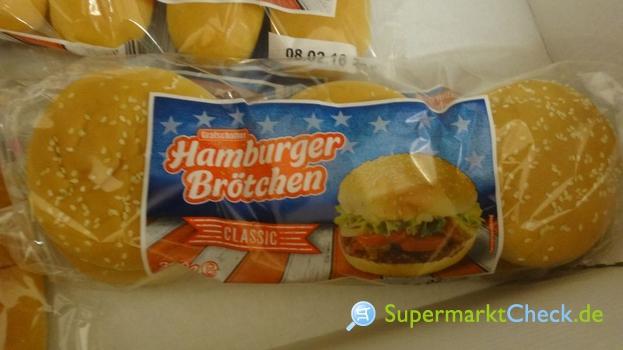 Foto von Grafschafter Hamburger Brötchen