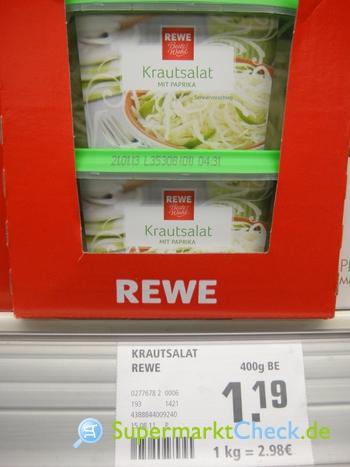 Foto von REWE Beste Wahl Krautsalat
