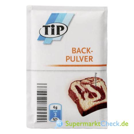 Foto von Tip Backpulver 6-er Pack
